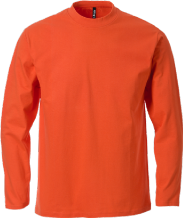 Fristads Acode Long Sleeve Core T-Shirt 1914 HSJ (Orange)